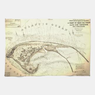 Linge De Cuisine Vieille (1833) cartes de Provincetown Truro