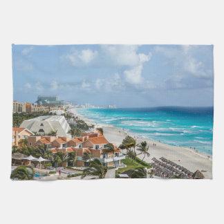 Linge De Cuisine Ville de Cancun sur près de la plage