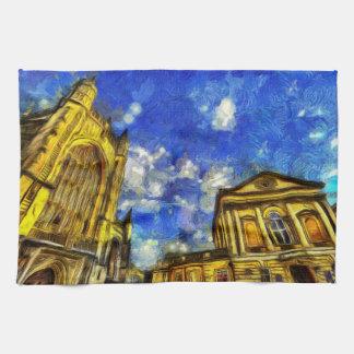 Linge De Cuisine Ville Van Gogh de Bath