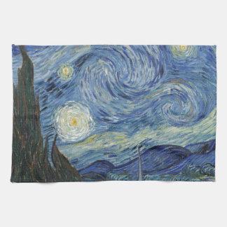 Linge De Cuisine Vincent van Gogh | la nuit étoilée, juin 1889