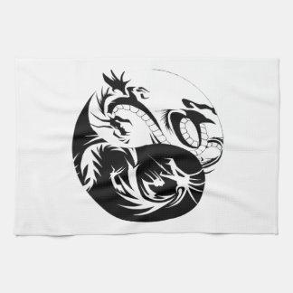 Linge De Cuisine Ying Yang dragon