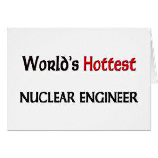L'ingénieur nucléaire le plus chaud des mondes carte de vœux