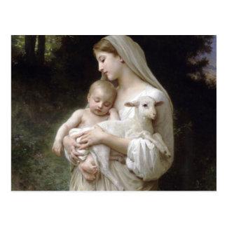 L'Innocence, William-Adolphe Bouguereau Carte Postale