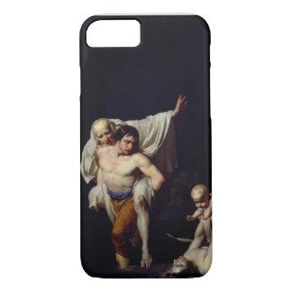 L'inondation, c.1789 (huile sur la toile) coque iPhone 8/7