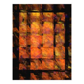 L'insecte d'art abstrait de mur prospectus 21,6 cm x 24,94 cm