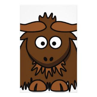 l'insecte observe des yaks papeterie