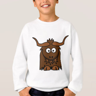 l'insecte observe des yaks sweatshirt