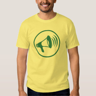 """L'insigne """"de la science parlante"""" t-shirts"""