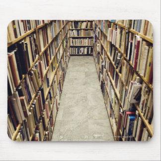 L'intérieur d'une librairie d'occasion Suède Tapis De Souris