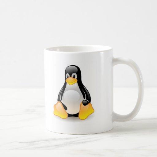 Linux-pingouin-Tux Mugs À Café