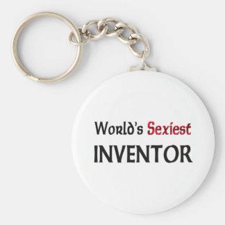 L'inventeur le plus sexy du monde porte-clé rond