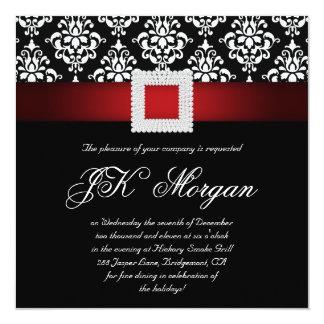 L'invitation de fête au bureau de Noël Jewels Carton D'invitation 13,33 Cm