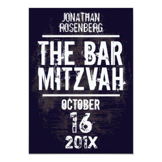 L'invitation toute de Mitzvah de barre de groupe