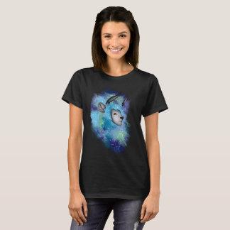 Lion à cornes de galaxie t-shirt