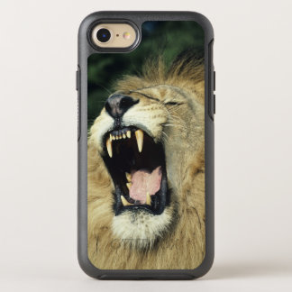 lion africain masculin Noir-maned baîllant, Coque Otterbox Symmetry Pour iPhone 7