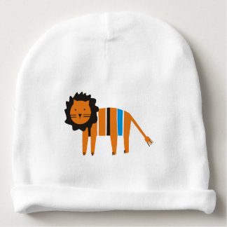 Lion Bonnet De Bébé