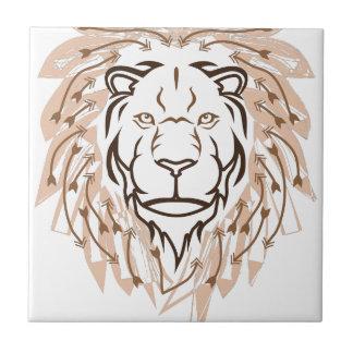 Lion de flèche petit carreau carré