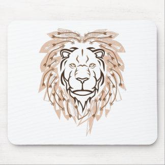 Lion de flèche tapis de souris