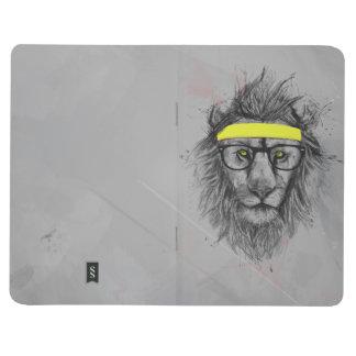 Lion de hippie carnet de poche