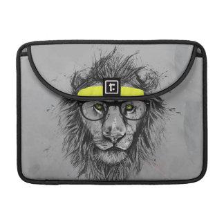Lion de hippie housse pour macbook
