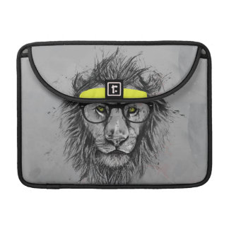 Lion de hippie poche pour macbook