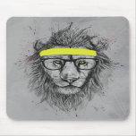 Lion de hippie tapis de souris