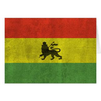 Lion de Judah Carte De Vœux