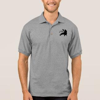 Lion de Judah (noir simple) Polo