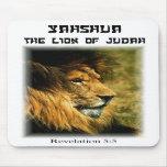 Lion de Judah Tapis De Souris