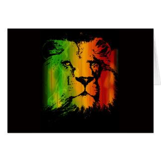 Lion de Rasta Cartes