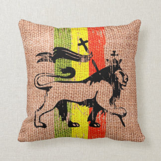 Lion de reggae coussin