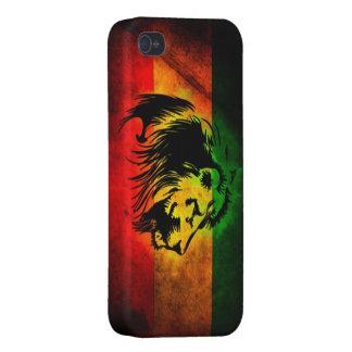 Lion de reggae de Cori Reith Rasta Étui iPhone 4/4S