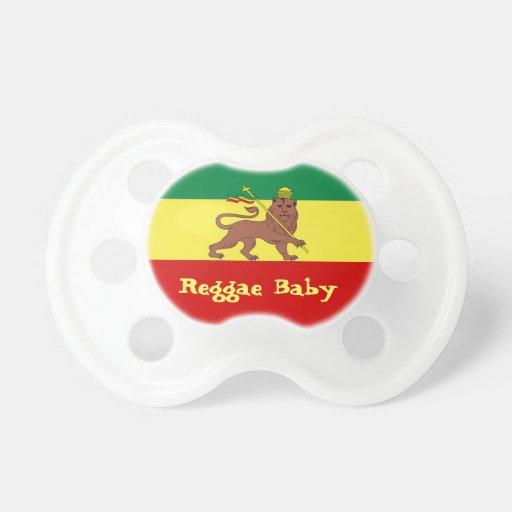 Lion de reggae de Rasta de bébé de reggae de Judah Tétines