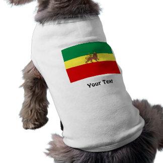 Lion de reggae de Rasta de Judah T-shirts Pour Chien