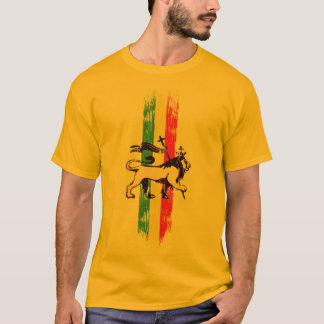 Lion de reggae t-shirt
