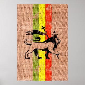 Lion de roi poster