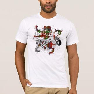 Lion de tartan de MacDuff T-shirt