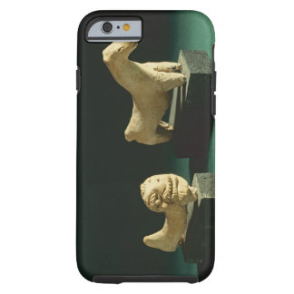 Lion de terre cuite et cheval, Mohenjodaro Coque iPhone 6 Tough