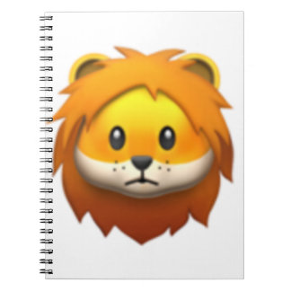 Lion - Emoji Carnet