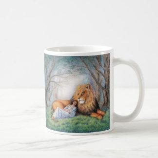 Lion et moi mug