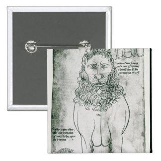 Lion et porc-épic de Mme Fr 19093 fol.24v Badge