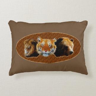 Lion et tigre et ours coussins décoratifs