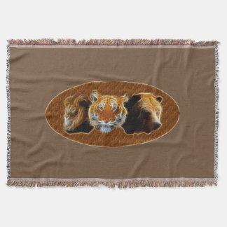 Lion et tigre et ours couverture