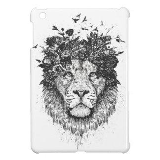 Lion floral coques pour iPad mini