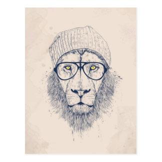 Lion frais carte postale