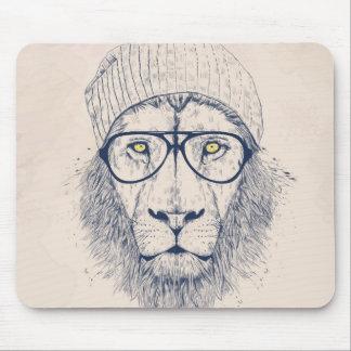 Lion frais tapis de souris