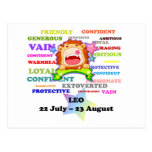 Lion, le lion, cadeaux faits sur commande d'astrol cartes postales