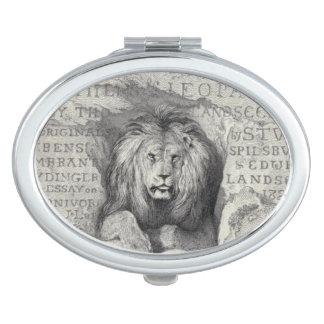 Lion le lion - miroir compact