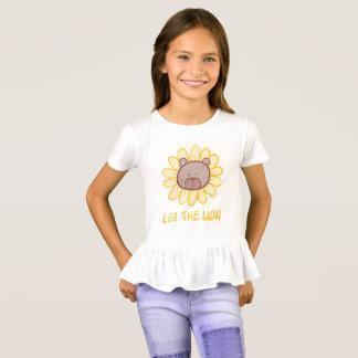 Lion le lion - T-shirt de la ruche de la fille