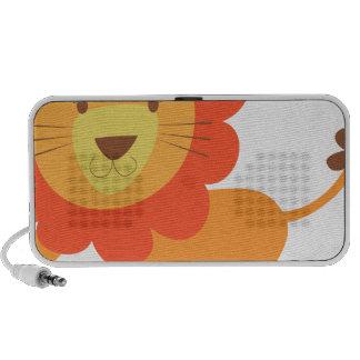 lion mignon haut-parleur iPod